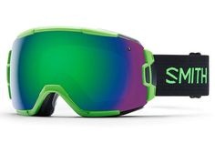 Smith - Vice Reactor Goggles, Green Sol-X Mirror Lenses