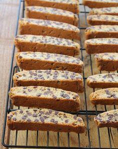 Cookie Desserts, Just Desserts, Cookie Recipes, Delicious Desserts, Dessert Recipes, Yummy Food, Biscotti Cookies, Yummy Cookies, Chip Cookies