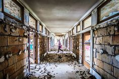 Coolest Abandoned Places in Michigan - Thrillist Abandoned Places In The Uk, Abandoned Mansion For Sale, Abandoned Detroit, Michigan Tourism, Michigan Vacations, Michigan Travel, Abandoned Prisons, Abandoned Mansions, Abandoned Buildings