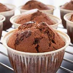 Cupcakes de Brownie Chocolate Muffins, Chocolate Cupcakes, Brownie Cupcakes, Drip Cakes, Cute Cakes, Cupcake Recipes, Cake Pops, Bakery, Food And Drink
