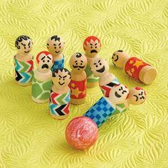 #DIY Fun bowling set for your boy shoeboxes!