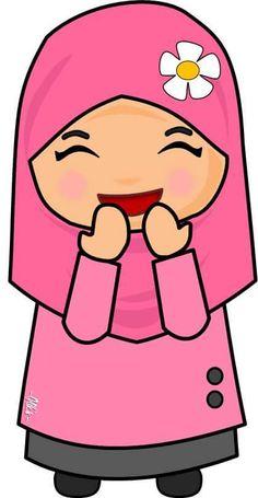 Anime Muslim Hijab Cartoon Clay Projects Images Avatar Allah Notebook Clip Art Preschool