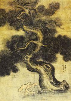 (Korea) 송하영지 by Gyeomjae Jeong Seon (1676- 1759). ca 18th century CE. color on paper.