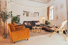 Ma maison au naturel: Des murs imparfaits créent le décor