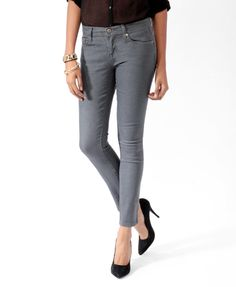 Stretch Skinny Jeans | FOREVER21 - 2000039921$10.80--want!!