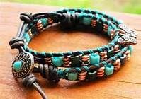 Rustic Cowgirl multi faceted braclet