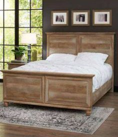 Crossmill Queen Bed, Weathered Finish, From Better Homes And Gardens At  Walmart #sweepstakes
