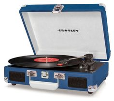I just received my crosley in the mail today. The speakers work wonderfully for my room and i actually prefer not to listen at full volume because it's too loud, so again, i don't get the comments about the player being too quiet.  #Electronics #Home Audio and Theater #Stereo Components #Turntables
