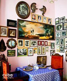 San Cristobal restaurant in Old Havana