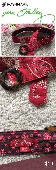 Vera Bradley Cloth belt Vera Bradley cloth belt, excellent condition Vera Bradley Accessories Belts