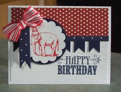 Stampin Up YOU'RE AMAZING Birthday Card by WhimsyArtCards on Etsy, $4.00
