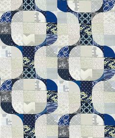 navy on grey repeat by asdesigned, via Flickr
