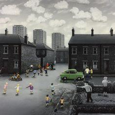 Leigh Lambert | Wingates Gallery Drawing Art, Art Drawings, Leigh Lambert, Children Games, Nostalgic Art, Ab Fab, Artist Portfolio, Flash Art, Book Illustrations