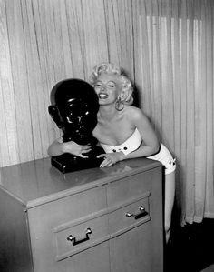 "alwaysmarilynmonroe: ""Marilyn by Mischa Pelz in 1953."""
