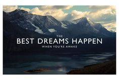 Best dreams    #travel #quote