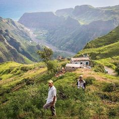 Farmers on the island Santo Antao #CaboVerde #CapeVerde