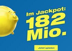 Jetzt gibt es mit Euro Millions bis zu 182 Millionen zu gewinnen!  Hast du noch Gratis-Spielguthaben aus einem Swisslos Online Wettbewerb? Dann setze es jetzt ein und gewinne bis zu 182 Mio.!  Hier 182 Millionen Franken gewinnen: http://www.gratis-schweiz.chgewinne-bis-zu-182000000-mit-swisslos  Alle Wettbewerbe: http://www.gratis-schweiz.ch