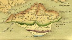 Isle of Wight by William Smith 1815.