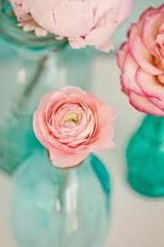 This is the inspiration for my daughter's new bedroom.  Soft teal walls, and soft pink armoire.