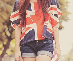 Great Britain flag - shirt.