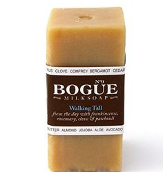 Bogue Milk Soap No9 Goat Milk Bar with 6 Essential Oils425oz Walking Tall * Check out the image by visiting the link.