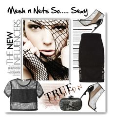 """Mesh n Nets So.... Sexy"" by emcf3548 ❤ liked on Polyvore featuring Jonathan Simkhai, Arche, Bottega Veneta and Jerome C. Rousseau"