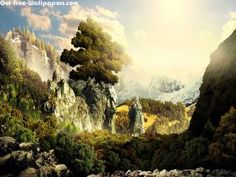 Free 3D Landscape Wallpapers, 3D Landscape Pictures, 3D Landscape Photos, 3D Landscape #8469 1920X1200 wallpaper