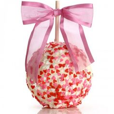 Apple lovers around the world: Take a bite out of the Sweethearts Caramel Chocolate Gourmet Apple, available at the Food Network Store