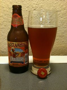 My favorite fall beer! St. Arnold Oktoberfest