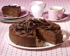 Schokoladentorte Mit Himbeeren Bei For Me | Pinterest - Torte Bilder