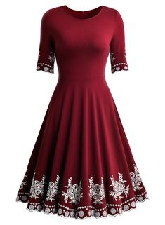 "<div class=""at-above-post addthis_tool"" data-url=""https://dmservicepoint.com/shop/featured/casual-scoop-neck-embroidered-half-sleeve-vintage-party-swing-dress/""></div><span style=""color: #000000; font-family: verdana, geneva, sans-serif;""><strong><span style=""color: #ff0000;"">Price:</span> $34.99</strong> with Free Return in some sizes and colors.&..."