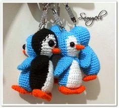 amigurumi pequin Crochet Gifts, Free Crochet, Knit Crochet, Amigurumi Toys, Crochet Patterns Amigurumi, Crochet Keychain, Crochet Animals, Crochet Projects, Stitch