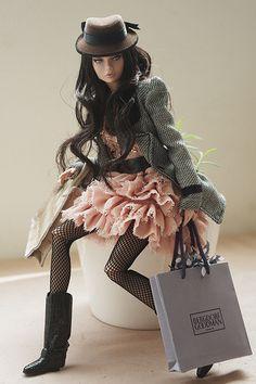 """Little Shopping Day"" ~ Model: Bergdorf Goodman ~ by V. JHON via flickr"