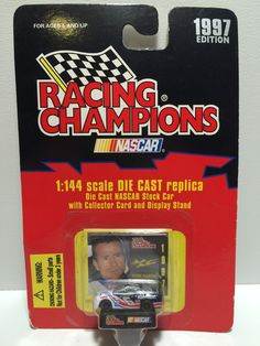 (TAS030122) - 1997 Racing Champions Nascar 1:144 Scale #6 Mark Martin Die Cast