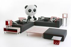 TOP TEN: 10 pieces from toy town | Panda Lux, Paola Navone, Cappellini, 2015 @cappellininext #designbest #funny #furniture |