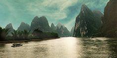 Li river, China by gdraskoy, via Flickr