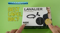Rode Lavalier Lapel Microphone Unboxing & Review @rodemics [ http://www.youtube.com/geekanoids ]