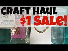Dollar Store Crafts » Blog Archive » Haul Video: $1 Sale from Fire Mountain Gems