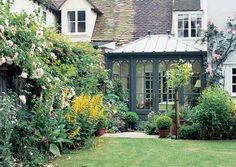 Gothic arches on an orangery by Vale Garden Houses Home And Garden, Garden Room, Outdoor Living, House Exterior, Summer House, Garden Buildings, Victorian Conservatory, House Blend, Orangery