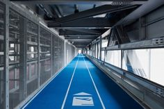 Commuter Olympics: Indoor Running Tracks Link Japanese Airport
