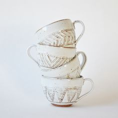 boho coffee cups