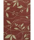 RugStudio presents Kas Bali Visions Rust-Sage 2830 Hand-Tufted, Good Quality Area Rug