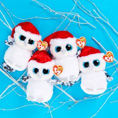 Tinsel loves the Holidays! You can find this festive owl exclusively at Claire's!