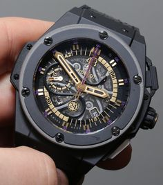 Kobe Bryant's New Hublot Watch