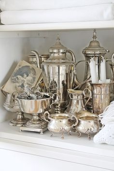 "Pretty Silver Collection - VIBEKE DESIGN: ""Kom mai du skjønne milde....."