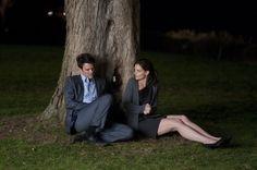 Still of Katie Holmes and Josh Duhamel in The Romantics