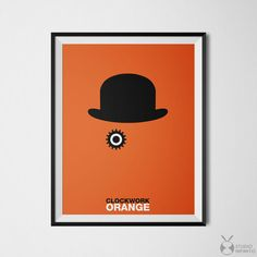 Clockwork Orange Poster Minimalist Print Cool Poster Home Clockwork Orange Poster, Poster Home, Horror Posters, Movie Posters, Kino Film, Kunst Poster, Stanley Kubrick, Minimalist Poster, Pulp Fiction