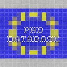 PHD database