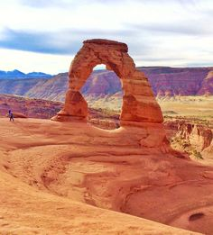 Day dreaming of warm sunny days in Utah and the most delicate of arches  by wikertsinwanderlust