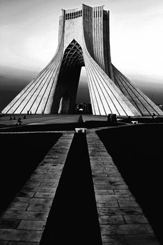 azadi tower, Tehran, Iran by King Nima Architect: Hossein Amanat